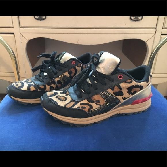 f5f351da842fb Sam Edelman Dax Leopard Print Sneaker. M 5a9c9bbfb7f72b60cb2cd8e0